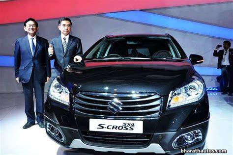 Company Profile Of Maruti Suzuki 2014 Auto Expo Maruti Suzuki Unveils S Cross And Ciaz