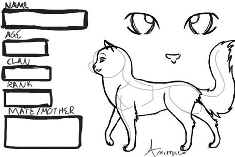 warrior cat coloring pages online pinterest the world s catalog of ideas