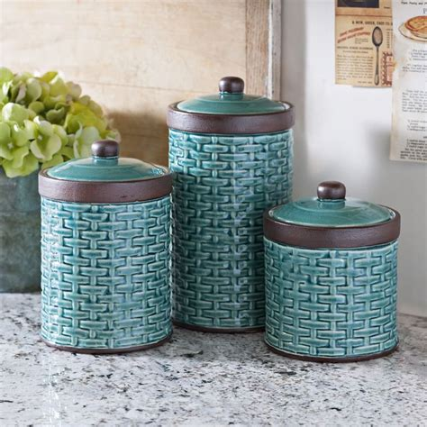 blue kitchen canister sets 94 best creative kitchens images on country