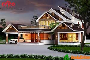 Kerala Home Design Double Floor by Excellent Double Floor Kerala Home Designs