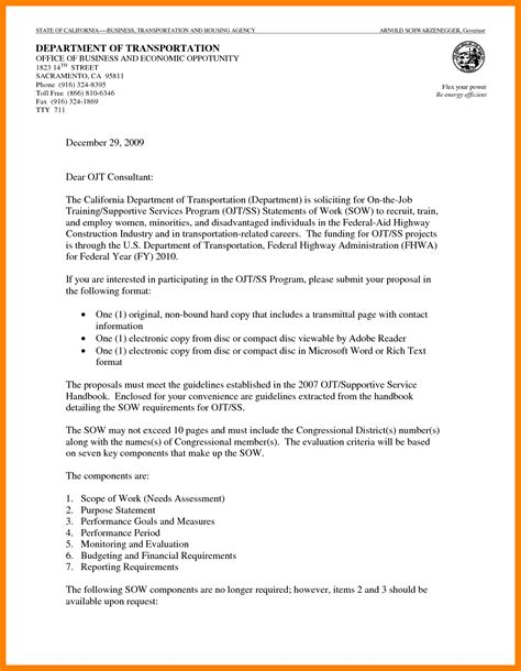 Business Letter Of Offer Template sle business cover letter gallery cover