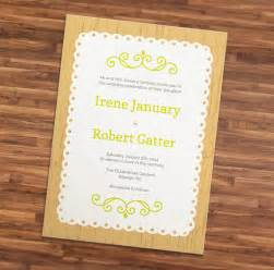 Wedding Invitation Template Illustrator by Wedding Invitation Wording Wedding Invitation Templates