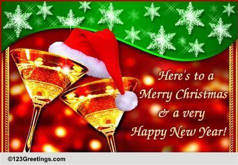heres   merry christmas  social  ecards