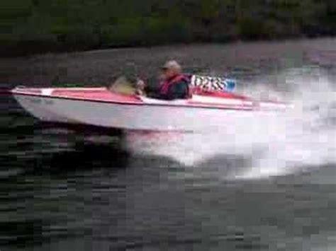 speed boat loch lomond ray wright classic delta speed boat on loch lomond youtube