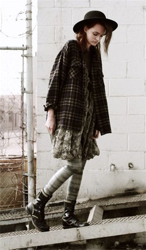 More Grunge Looks by A Writer S Wardrobe Grunge The Trend Where