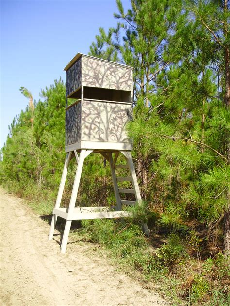 wood tree stand plans