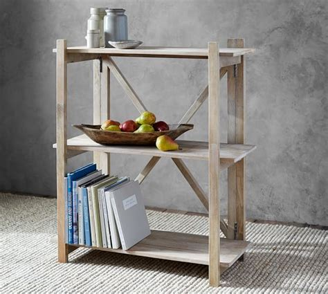 flat pack bookshelf pottery barn