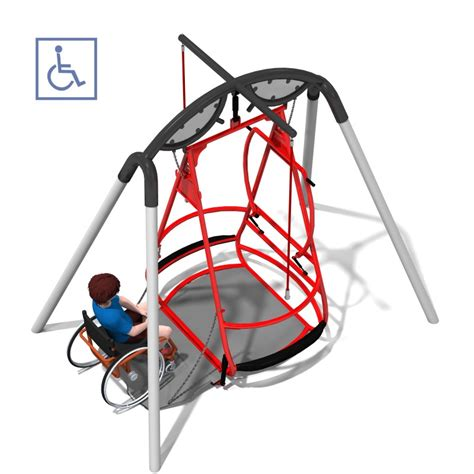 wheelchair swing wheelchair swing jacob s ladder pediatric rehab center