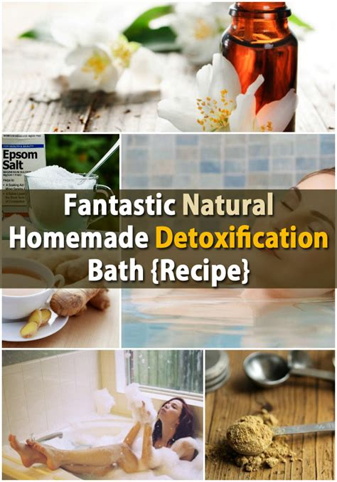 Detox Herbal Bath Recipe by Fantastic Diy Detoxification Bath Recipe