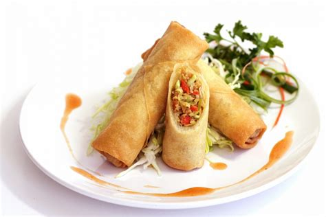 with rolls sum m crispy vegetable rolls choice foods
