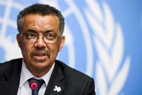 tedros adhanom ghebreyesus l ethiopien tedros prend la direction de l oms challenges fr
