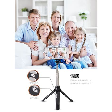 Tongsis 3 In 1 Tripod Tongsis Bluetooth Compatible For Android Or Ios ni5l tongsis monopod tripod dengan bluetooth shutter black jakartanotebook