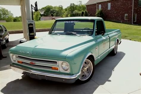 sun ls for psoriasis for sale a closer look holley s 1967 chevy c10 shop truck chevy