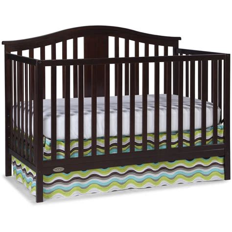 Colored Baby Cribs Graco Solano 4 In 1 Convertible Crib And Bonus Mattress Colors Ebay