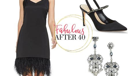 holiday party style tips  accessorize   black dress