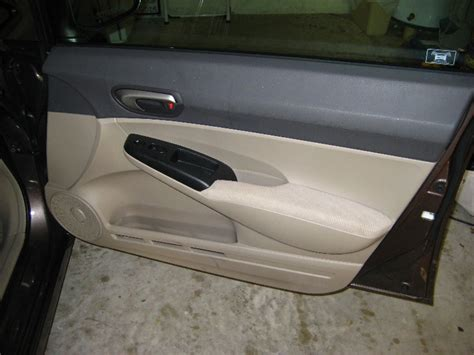 Removing Exterior Door Remove Front Door Panel Honda Civic