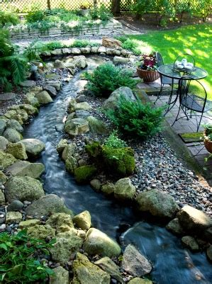 Backyard Creek Ideas Backyard Landscaping Ideas Gardening