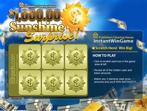 Pch Instant Win Scratch Card - new publishers clearing house prize opportunities for september pch blog