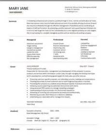 Health And Wellness Director Sle Resume by Sales Manager Resume Berathen