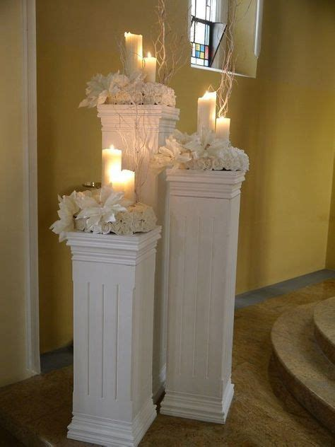 Best 25  Wedding columns ideas on Pinterest   Church