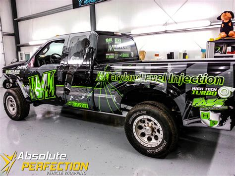 Maryland Performance Diesel Truck Wrap   Vehicle Wrapping