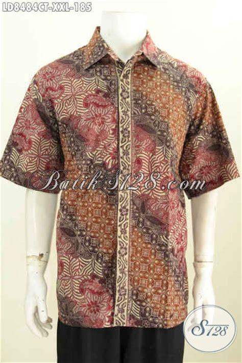 desain baju batik lengan pendek desain baju batik pria terbaru spesial untuk yang berbadan