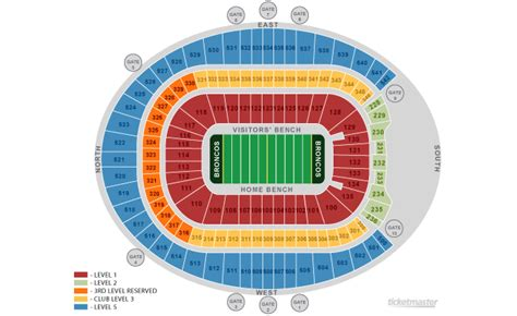 denver broncos stadium seating chart 3d broncos seating chart 13 broncos stadium seating chart