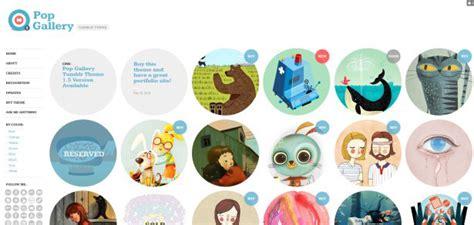 free tumblr themes for illustrators 20 stunning tumblr portfolio themes webdesigner depot