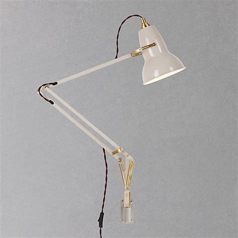 Wall Mounted Anglepoise L by Buy Anglepoise Original 1227 Brass Wall Mounted Lewis