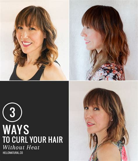 everyday hairstyles without using heat 3 ways to get boho waves without heat curl your hair