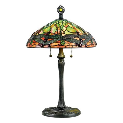 green dragonfly tiffany l black friday quoizel green dragonfly tiffany 2 light table