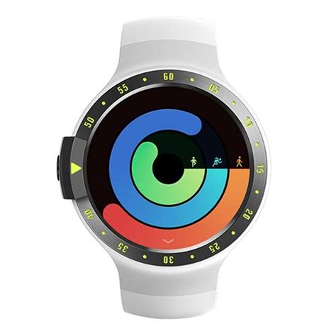 Ticwatch S Smartwatch ticwatch s smartwatch 512mb ram 4gb rom white