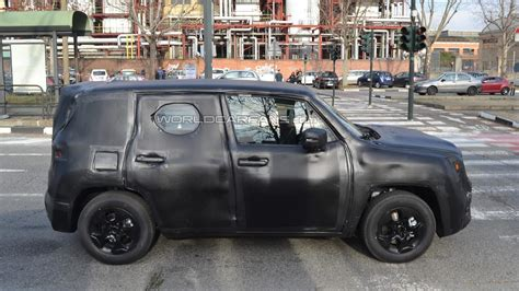 jeep crossover 2014 jeep s entry level crossover shows its boxy shape in