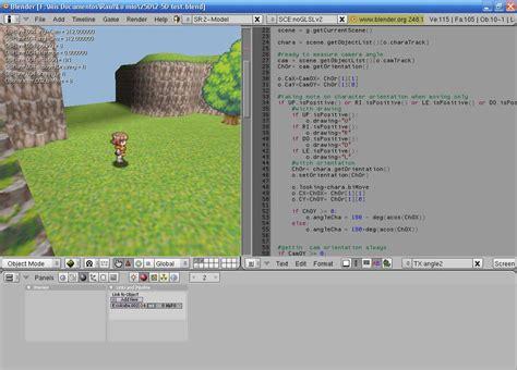 blender tutorial 2d game 2d sprite system blender game engine atelier