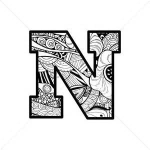 letter n vector image 1544052 stockunlimited