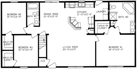 3 bedroom ranch house floor plans ranch home floor plans 1000 images about home floor plans