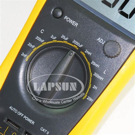 capacitor discharge multimeter lcd capacitor capacitance digital multimeter lc meter inductance 2mh 20h vc6243 ebay