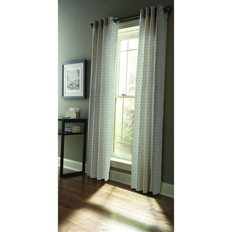 martha living curtains martha stewart living semi opaque zinc diamond sky grommet