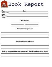 printable book report form printable book report forms submited images free book report template
