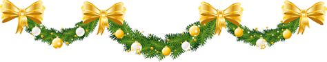 Twelfth Night Decorations Transparent Large Christmas Pine Garland Png Picture
