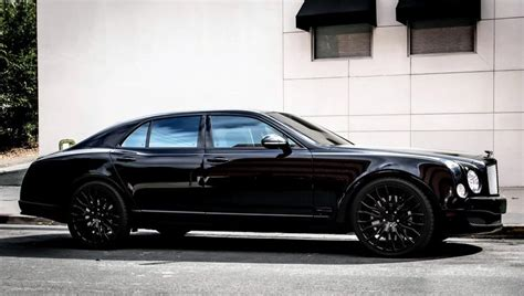 bentley mulsanne blacked out lexani wheels the leader in custom luxury wheels all