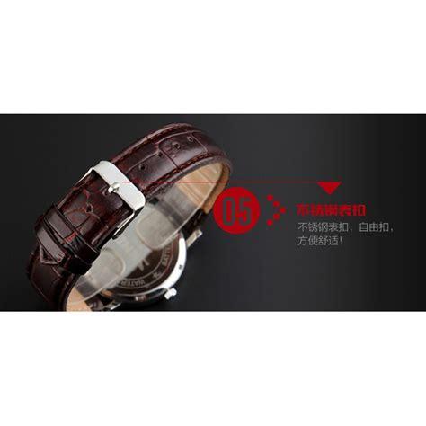 Skmei Jam Tangan Analog Pria 9120cl Brown White skmei jam tangan analog pria 9120cl brown white