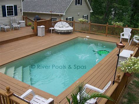 wooden pool decks pools with wood decks large composite pool deck with l