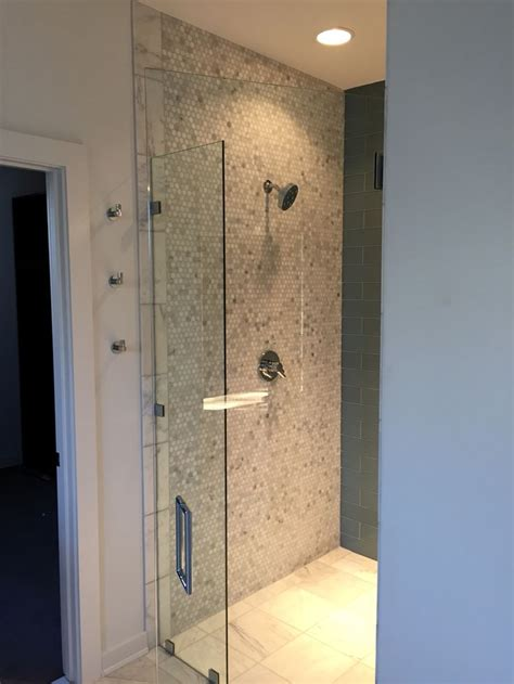 entry shower modern bathrooms interior bathroom