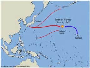 Midway On World Map by 7thperiodamericanhistory World War Ii Battle Of Midway