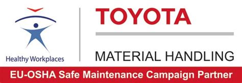 Toyota Material Handling Logo Toyota Material Handling And Eu Osha In Safe Maintenance