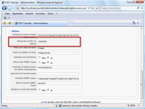 tutorial breezingforms joomla der medien manager in joomla joomla cms tutorials de