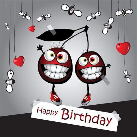 funny happy birthday cartoon images elsoar