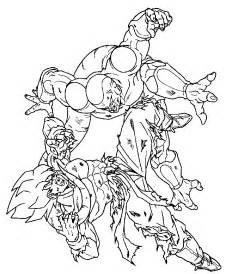 goku goku dibujo colouring pages 2