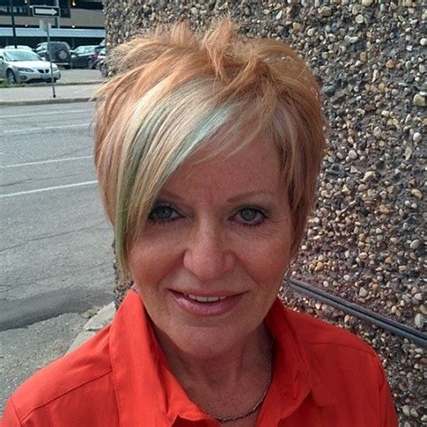 feathered haircuts for women over 50 short feathered hairstyle for women over 50